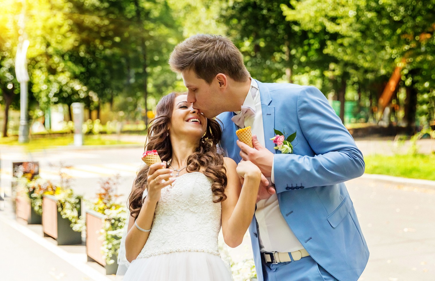 Фото свадеб в парке